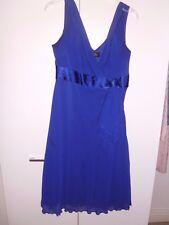 debenhams petite collection  dress size 12, purple occation  wear, sleevless,