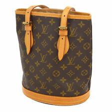 100% Authentic Louis Vuitton Bucket PM SHOULDER TOTE BAG