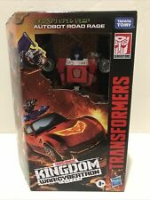 Transformers Kingdom War For Cybertron Deluxe Road Rage INHAND