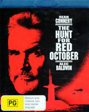 The Hunt for Red October - Sean Connery, Alec Baldwin - Mint Blu-ray
