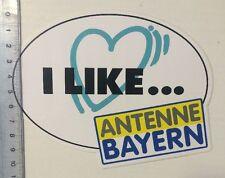 Aufkleber/Sticker: I Like - Antenne Bayern (04031636)