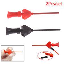 1Pair Mini Analyzer Testing Probe Grabber SMD IC Test Hook Clip Jumper PN_T1
