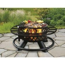 """47"""" Outdoor Fire Pit With Grill, Heavy Duty-Ships Within 24 Hours From Usa"""