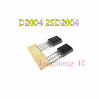 5PCS 2SD2004 Encapsulation:TO-126,1.2W PACKAGE POWER TAPED TRANSISTOR NEW