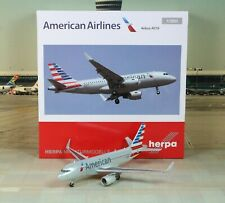 """Herpa Wings American """"New Color"""" Airbus A319Sh 1/200"""