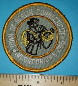 Older Berlin Connecticut Police Patch