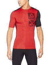 Vêtements et accessoires de fitness rouges Reebok