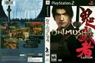 Onimusha Warlords Sony PlayStation 2 PS2 COMPLETE BLACK LABEL ! Samurai Warriors