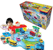 Little Bus TAYO Depot Center Special Play Set - Garage, Car Wash, Gas Station