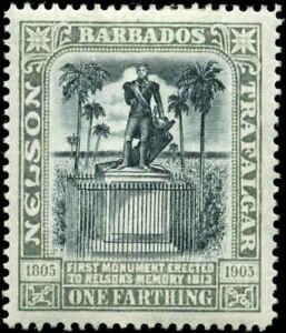 Barbados Scott #102 Mint