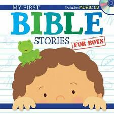 My First Bible Stories for Boys with CD