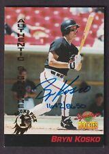 Bryn Kosko 1994 Signature Rookies 1st Round Pick On Card Autograph #31