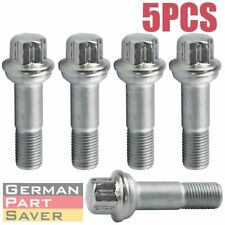 "5PCS STAINLESS STEEL Wheel Lug Bolt 2 5/8"" fit Mercedes W164 W166 X204 W221 C216"