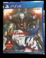 PS4 Devil May Cry 4 Special Edition w/ English Italiano Français Español Deutsch