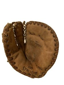 Spalding 1327 Super-Trapper 1st Baseman's Glove USA RHT Righty Special Select
