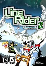 Line Rider 2 Unbound PC Games Windows 10 8 7 XP Computer arcade puzzle NEW