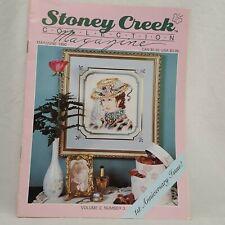 Stoney Creek Cross Stitch Collection Magazine Patterns May June 1990 Anniversary