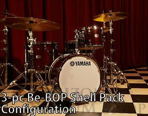 Yamaha Absolute Hybrid Maple Jazz Shell Pack, CLASSIC WALNUT 12/14/18 - IN STOCK