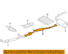 car & truck exhaust pipes & tips for toyota sienna , genuine oem 2005 toyota sienna exhaust diagram at Sienna Exhaust Diagram