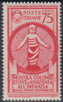 Italy Regno - 1937 Colonie Estive Sass. n.411 cv 90$ MNH**