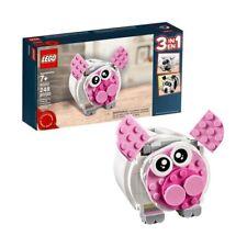 NEW LEGO Piggy Bank 40251 Pig Panda Polar Bear Cash Money Coin Collector 3in1