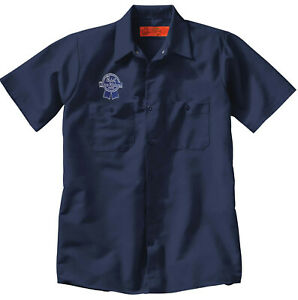 PABST BEER Embroidered PATCH + Delivery Man Uniform WORK SHIRT breweriana