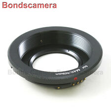 AF Confirm M42 Screw Mount Lens to Nikon F Camera Optical Adapter D4 D750 D5200