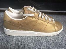 Nike Tennis Classic Premium Gold Scarpe da ginnastica donna/bambino Taglia UK5.5 EUR 38.5