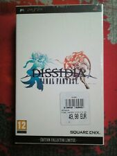 ++ jeu sony PSP dissidia final fantasy Edition collector NEUF sous blister ++