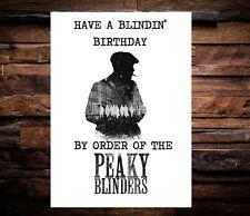 Funny Peaky Blinders Birthday Card