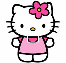 Hello Kitty Girls Light Switch Sticker Kids/Bedroom #175