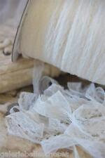 B123 4m Jeanne d 'Arc Living punta crema Ecru klöppelspitze banda Shabby cenefa
