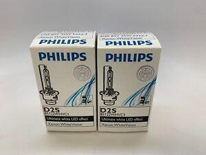 D2S Philips D2S WhiteVision HID Xenon Headlight Bulbs (2x) 85122WHVC1
