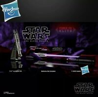 Hasbro Star Wars Black Series Darth Revan Force FX Elite Lightsaber New In Stock