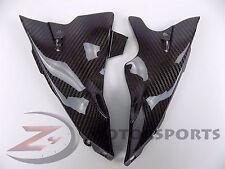 2004-2006 Yamaha R1 Front Dash Air Tube Trim Cover Fairing Cowl Carbon Fiber