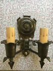 1920's Pair of Wall Sconces