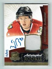 10-11 UD The Cup  Evan Brophy  /47  Gold Spectrum  Auto  Patch  Rookie