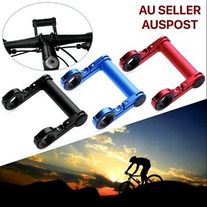 Bicycle Handlebar Mount Extender Carbon Tube Aluminum Alloy Mount MTB Bike Stem