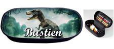 Trousse à crayons Dinosaure personnalisée avec prénom