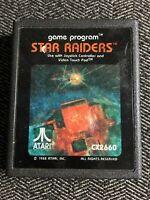 STAR RAIDERS - ATARI 2600 - GAME ONLY - FREE S/H - (C4)