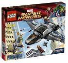 Lego Marvel Super Heroes 6869 QUINJET AERIAL BATTLE Thor Loki Minifigures NISB