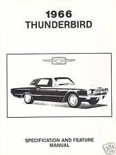repair manuals literature for ford thunderbird ebay rh ebay com 1966 Ford Thunderbird 1964 Ford Thunderbird