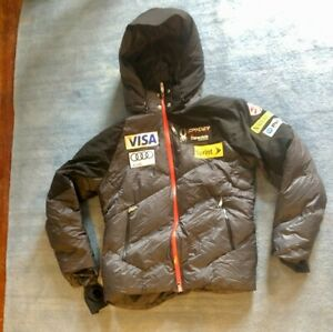 Mens Used L Official US Ski Team Spyder Puffy Jacket