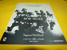 BOB SEGER - AGAINST THE WIND!!!!!!!!!!!!!!FRENCH ADVERT