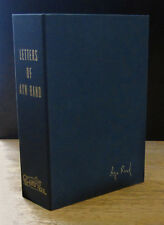 LETTERS OF AYN RAND (1995) LIMITED, SIGNED 1ST EDITION IN CLAMSHELL CASE