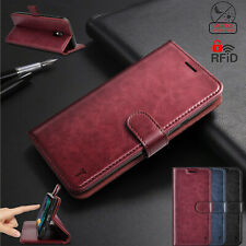 For LG Aristo 4 Plus/Prime 2/Tribute Royal/Escape Plus Case Leather Wallet Cover