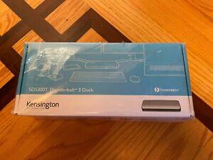 Kensington SD5300T Thunderbolt 3 Dock - brand new