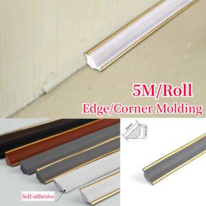 Self-adhesive Wall Inner Corner Trim Molding Line Ceiling Edge Caulk Strip