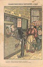 Caricature Stephen Jean Marie Pichon Alliance Franco-Russe  1913 ILLUSTRATION
