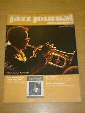 JAZZ JOURNAL INTERNATIONAL VOL 31 #5 1978 MAY CLARK TERRY ERIC DOLPHY